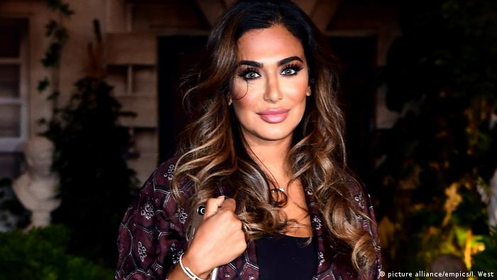 Huda Kattan - London Fashion Week 2016 (picture alliance/empics/I. West)