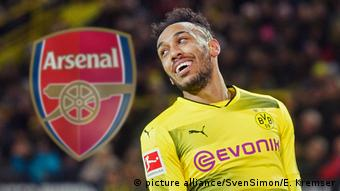 Fussball Pierre-Emerick Aubameyang und Arsenal (picture alliance/SvenSimon/E. Kremser)
