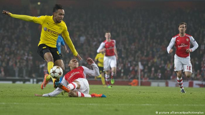 Fussball Pierre-Emerick Aubameyang und Arsenal (picture alliance/dpa/Actionplus)