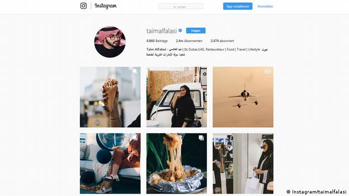 Instagram Screenshot - taimalfalasi (Instagram/taimalfalasi)