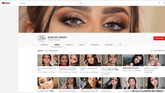 Screenshot YouTube NORA BO AWADH (YouTube/NORA BO AWADH)