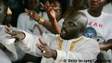 Bildergalerie George Weah, designierter Präsident Liberia | Wahlkampf 2005