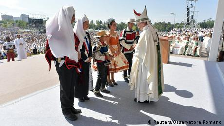 Chile Papst Franziskus in Santiago | Messe O'Higgins Park (Reuters/Osservatore Romano)