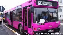 Mexiko, pinker Bus für Frauen