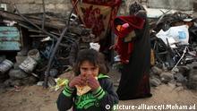 Palästinenser im Flüchtlingslager Chan Junis im Gazastreifen (Archivbild)