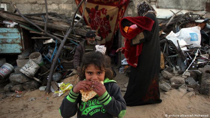 Palästina, Gazastreifen, Chan Yunis, Flüchtlingslager