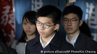 Joshua Wong (picture alliance/AP Photo/Kin Cheung)