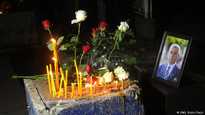 Kosovo Mitrovica trauert um Ivanovic