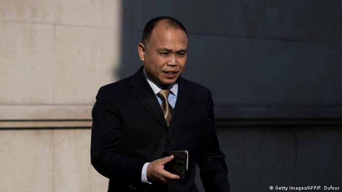 Yu Wensheng (Getty Images/AFP/F. Dufour)