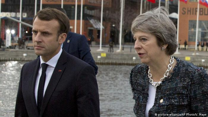 Emmanuel Macron S Eu Vision Meets Theresa May S Search For The Exit Europe News And Current Affairs From Around The Continent Dw 18 01 2018