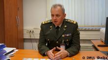 Belgien Brüssel - Generalstabschef der Ukraine Wiktor Muzhenko (Victor Muzhenko) in der NATO Hauptquartier