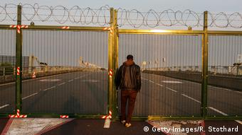 Frankreich Migranten in Calais
