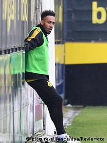 Fußball Training Borussia Dortmund AUBAMEYANG
