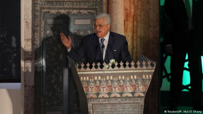 Mahmoud Abbas speaks in Cairo about Jerusalem