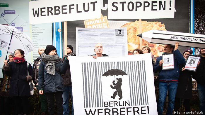 Ad-free Berlin campaign