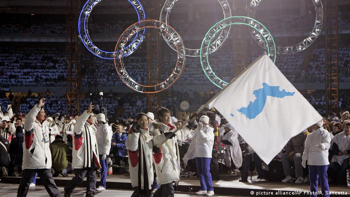 Italien Korea Delegation Olympia Turin 2006 (picture alliance/AP Photo/A. Sancetta)