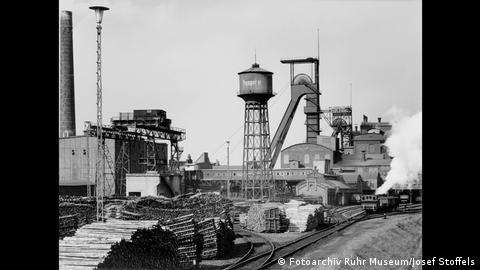 The Prosper mine in Bottrop (Fotoarchiv Ruhr Museum/Josef Stoffels)