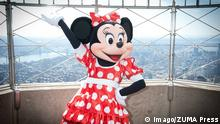 USA Minnie Mouse im Empire State Building
