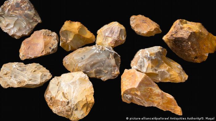 Ausgrabungen prähistorische Stätte in Jaljulia, Israel (picture-alliance/dpa/Israel Antiquities Authority/S. Magal)