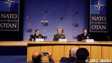 Brüssel PK Nato | Curtis Scaparotti & Petr Pavel & Denis Mercier