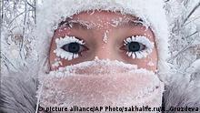 Russland Kältewelle -67 Grad Celsius | Anastasia Gruzdeva