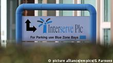 UK Interserve Logo (picture alliance/empics/S. Parsons)