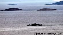 Ägäis: Kollision zwischen griechischem und türkischem Marineboot