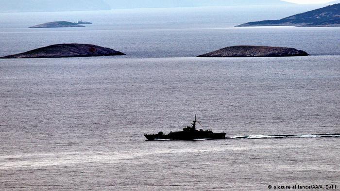 Ägäis: Kollision zwischen griechischem und türkischem Marineboot (picture alliance/AA/A. Balli )