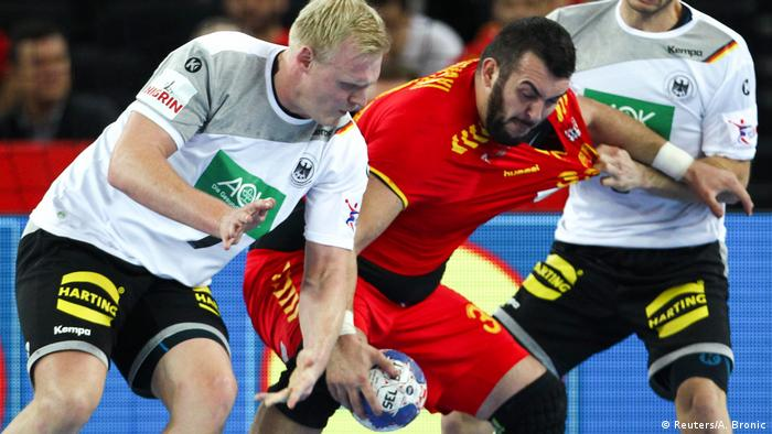 Kroatien Handball EM   Deutschland gegen Mazedonien (Reuters/A. Bronic)