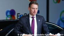 Brüssel Halbe Zijlstra, Außenminister Niederlande