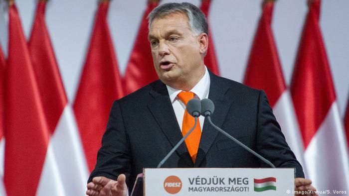 Viktor Orbán (imago/Xinhua/S. Voros)