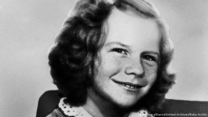 Janis Joplin at age ten (picture-alliance/United Archives/Roba Archiv)