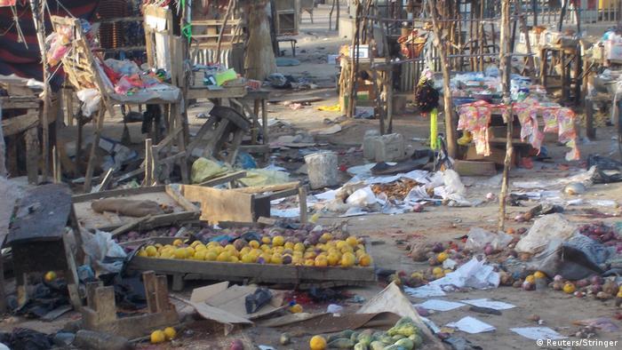 Nigeria - Selbstmordanschlag in Maiduguri (Reuters/Stringer)