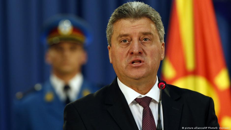 Maqedoni  Presidenti Ivanov kundër ligjit për gjuhët