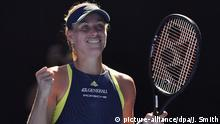 WTA-Tour Angelique Kerber Australian Open (picture-alliance/dpa/J. Smith)