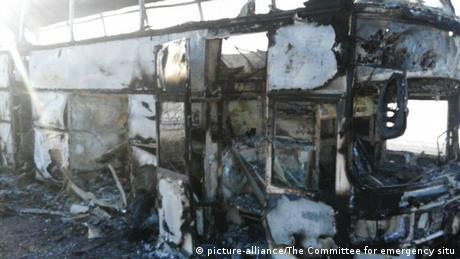 У Казахстані 52 людини загинули в пожежі автобуса