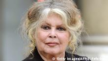 FILES - A picture taken on September 27, 2007 shows French film legend and animal rights activist Brigitte Bardot posing at the Elysee palace in Paris after a meeting with French President Nicolas Sarkozy. Bardot, France's 1960s screen icon, received a 15,000-euro (23,000 dollar) fine on June 3, 2008 for inciting hatred against Muslims. AFP PHOTO ERIC FEFERBERG (Photo credit should read ERIC FEFERBERG/AFP/Getty Images)