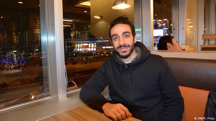 Jamal, syrischer Geflüchteter in Japan