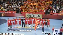 Mazedonien gegen Deutschland Handball