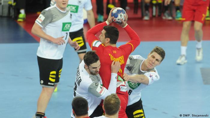 Europa Meisterschaft Zagreb Handball (DW/P. Stojanovski)