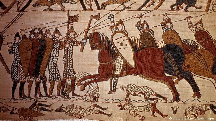 Teppich von Bayeux 11. Jahrhundert (picture alliance/akg-images)
