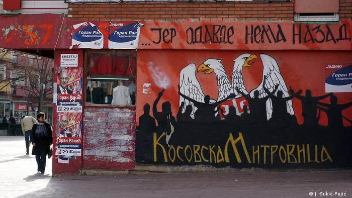 Stadt Nordmitrovica im Kosovo