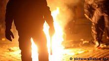 Maikrawalle in Hamburg Polizisten im Einsatz gegen Demonstranten