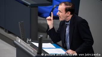 Gottfried Curio AfD in Bundestag (picture alliance/dpa/B. von Jutrczenka)