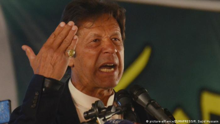Pakistani PM Imran Khan (picture-alliance/ZUMAPRESS/R. Sajid Hussain)