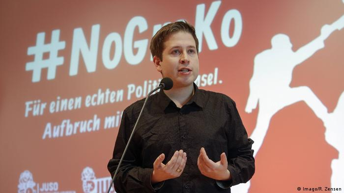 Kevin Kühnert, leader of SPD's youth wing