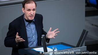 Deutschland Bundestag Debatte zum Familiennachzug von Flüchtlingen | Gottfried Curio AfD