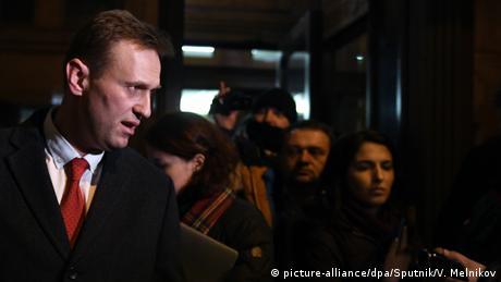 Навального не випустили з Росії до Страсбурга