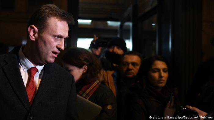 Opposition leader Alexei Navalny