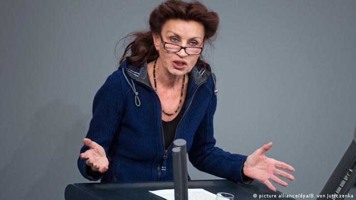Bundestag Ulla Jelpke ARCHIV